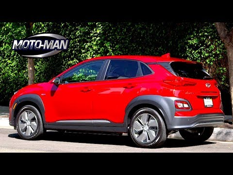 2019 Hyundai Kona Ev Cuv Ready For The Daily Commute First