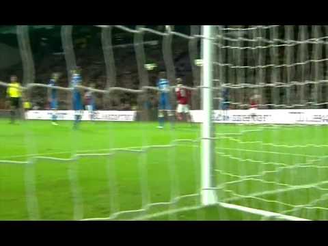 Nicklas Bendtner Goal Denmark vs Italy 1-1 HQ World Cup 2014