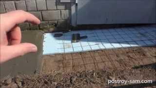 Как сделать отмостку для гаража?(http://postroy-sam.com/ - Как сделать отмостку для гаража своими руками? Устройство отмостки. Какой раствор нужен для..., 2015-03-25T23:33:35.000Z)