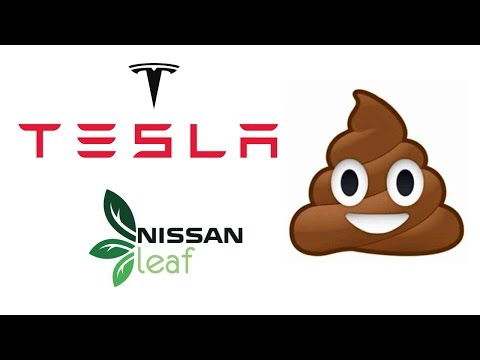 Tesla, Nissan Leaf tutta fuffa, Auto Elettriche inutili non compratele