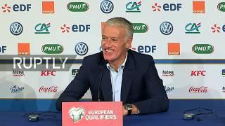 Download Video LIVE: Deschamps and Hamren speak after France vs Iceland clash MP3 3GP MP4