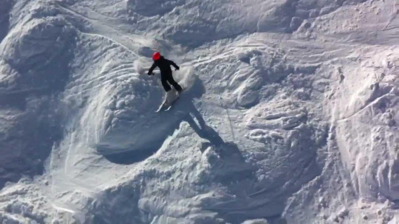 Milo 10 Ans Descend Chavanette 224 Ski Quot Le Mur Suisse