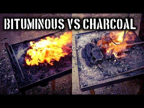 Charcoal VS Bituminous Coal  (Alternative Fuel Series)