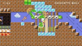 ♥止まると即アウト!どせいさんの本気ダッシュSpeedRun♪♥ by ゆきぃ(ゆっきぃ♪) - Super Mario Maker - No Commentary