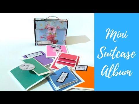 Mini Suitcase Album / Card