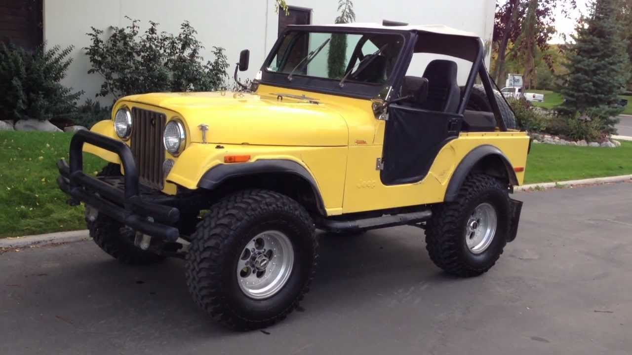 1980 jeep cj5 4x4 lifted inline 6 6 speed clean. Black Bedroom Furniture Sets. Home Design Ideas