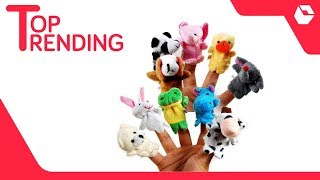 House of Quirk Animal Finger Puppet - Pack of 10