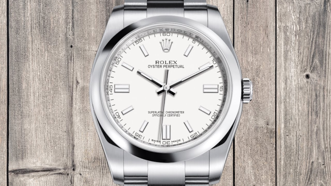 AN OVERLOOKED ROLEX: Rolex Oyster Perpetual 36 116000 ...