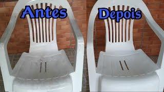 Como Limpar Cadeira de Plástico Encardida