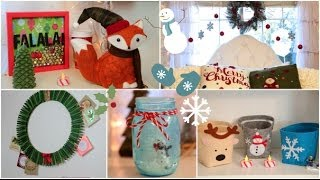 DIY Holiday room Decorations + Easy ways to decorate/organize! Thumbnail