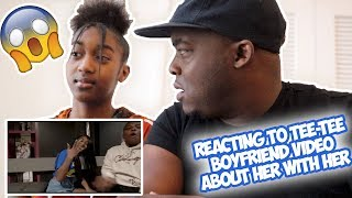 REACTING TO MY LITTLE SISTER BOYFRIEND VIDEO ABOUT HER WITH HER *crazy reaction*