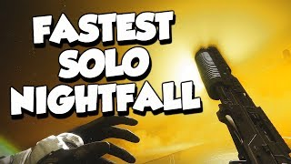 FASTEST Solo Nightfall! Lake of Shadows 2:48 [Destiny 2]