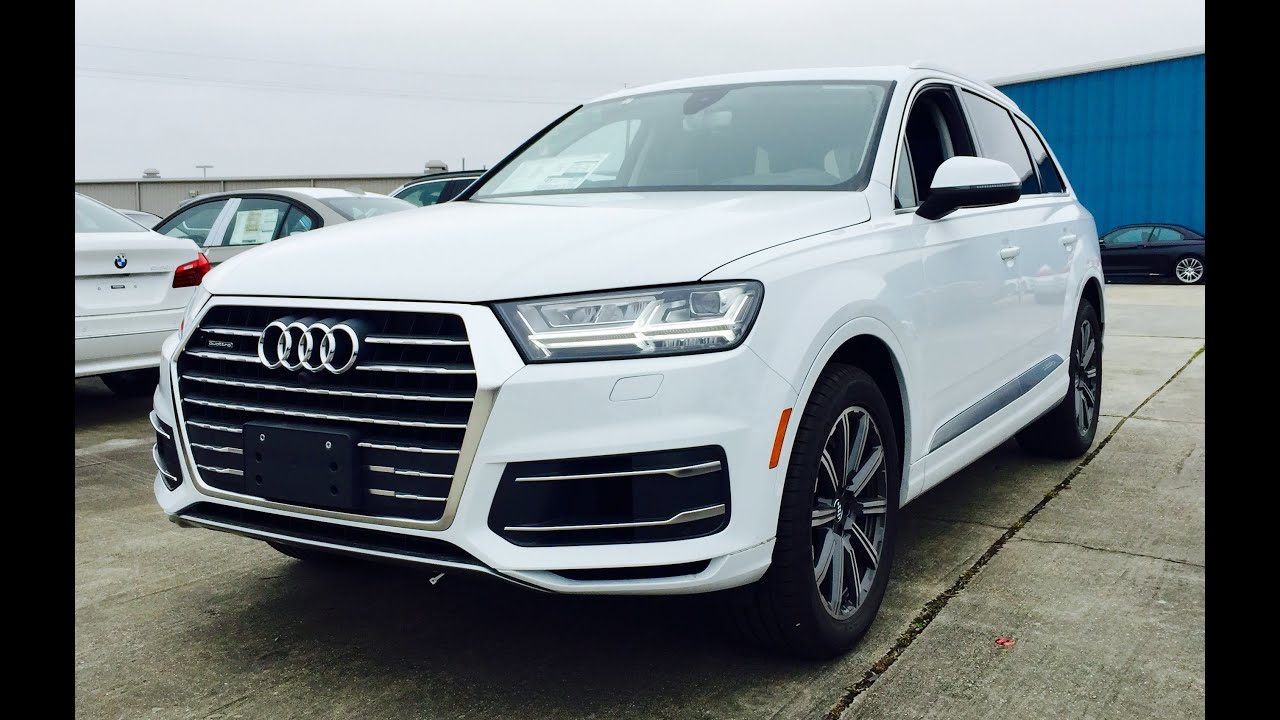 2017 Audi Q7 Prestige 3 0t Quattro Tiptronic Full Review Exhaust Start Up Short Drive You