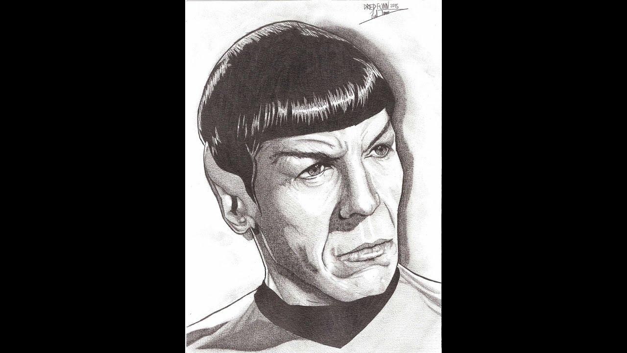 Drawing leonard nemoy tribute a dredfunn photorealistic mechanical drawing leonard nemoy tribute a dredfunn photorealistic mechanical pencil portrait ccuart Image collections