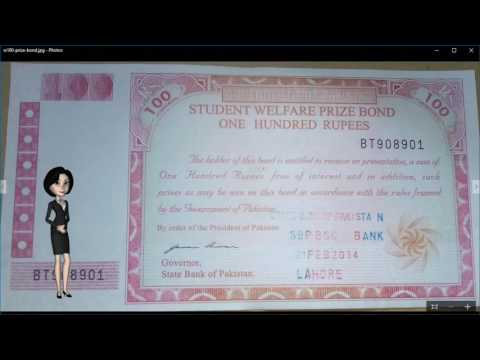 100 Rupees Prize Bond - Earn Money with Student Welfare Priz