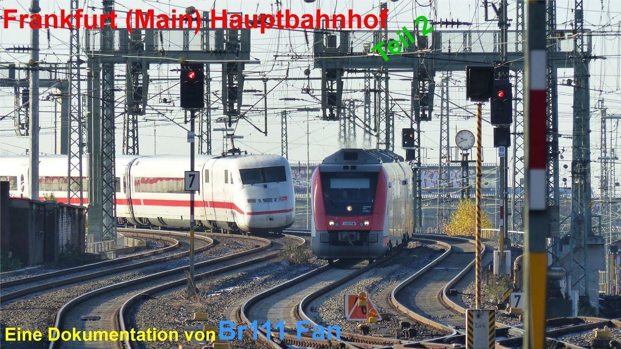 Br111 Fan Frankfurt Main Hauptbahnhof 2016 Teil 2 Youtube