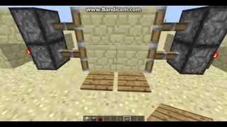 как сделать дверь в minecraft видео