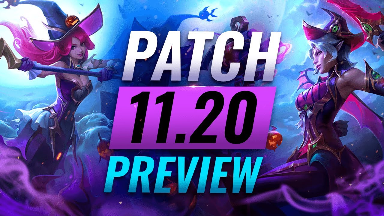 Download NEW PATCH PREVIEW: Upcoming Changes List For Patch 11.20 - League of Legends