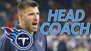 Tennessee Titans hire Mike Vrabel as new Head Coach!