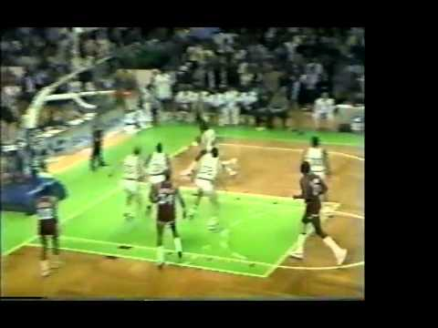 M.L. Carr chasedown block (11-9-84)