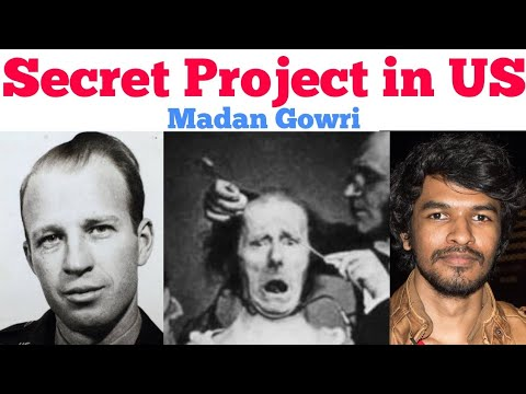 Secret Project in US  | Tamil | Project MK Ultra | Madan Gowri
