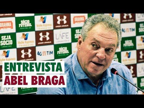 FluTV - Fluminense 1 x 1 São Paulo - Coletiva - Abel Braga