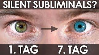Augenfarbe ÄNDERN mit unterschwelligen Botschaften? | Selbstversuch