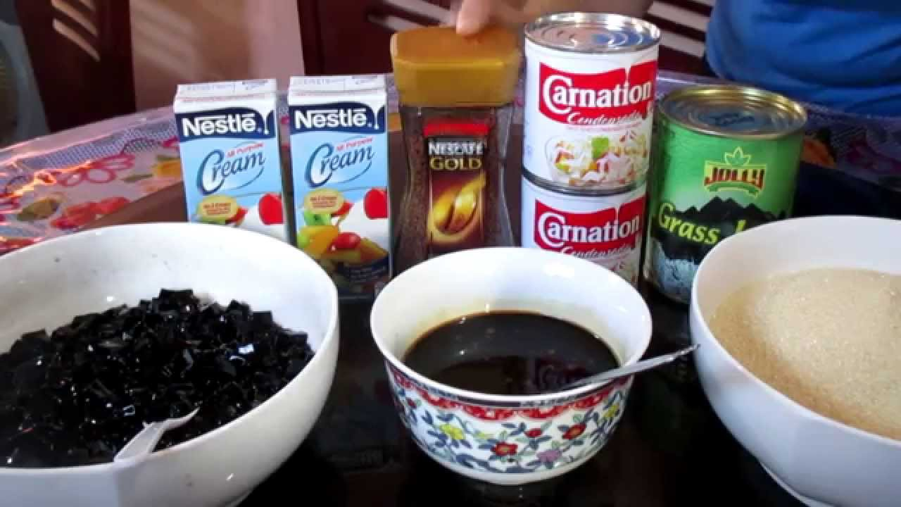 coffee jelly recipe filipino