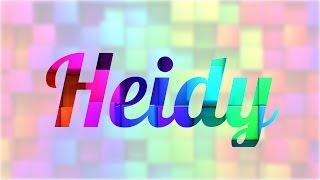 Significado de Heidy, nombre Alemán para tu bebe (origen y personalidad)
