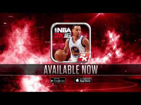 NBA 2K16 Mobile Game Trailer