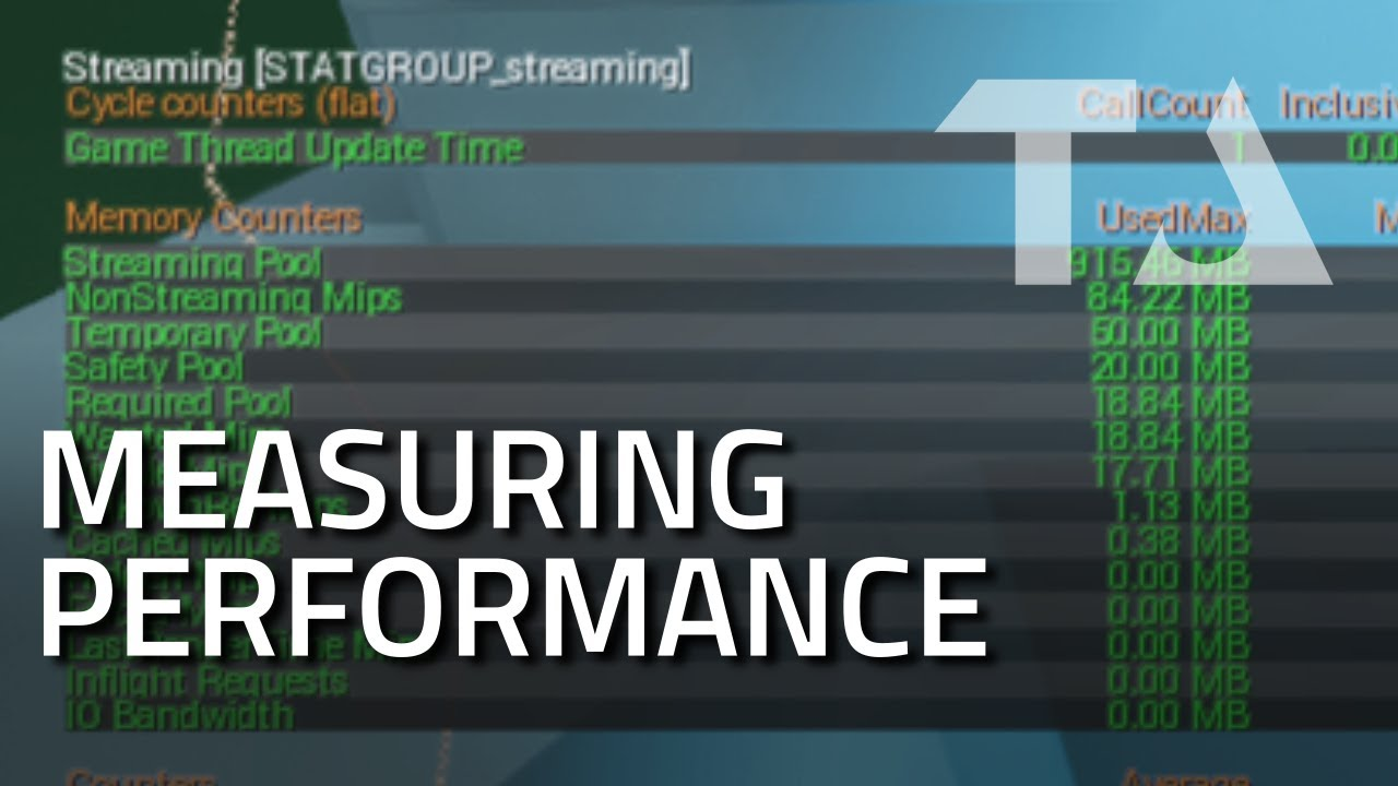 UE4 Graphics Profiling: Measuring Performance