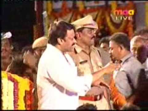 chiru party (Praja Rajyam) jenda song
