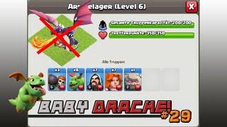 COC [028] - Baby Drache im Test (Fredi) | Let's Play Clash of Clans [Deutsch/HD]