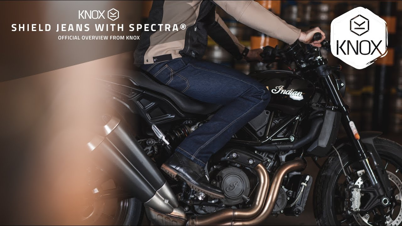 Knox Shield Jeans with Spectra® - Best single layer riding Jeans