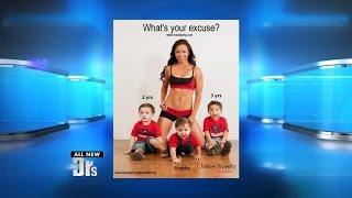 Fit Mom's Photo Sparks Backlash