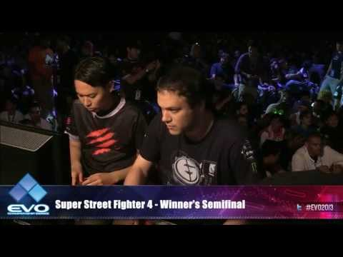Evolution 2013: SUPER STREET FIGHTER IV All games QUARTER FI