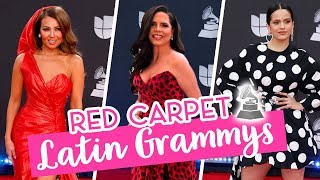 INVITACIÓN ESPECIAL!! Estuve en la ALFOMBRA ROJA de los GRAMMY 2019 | Camila Guiribitey