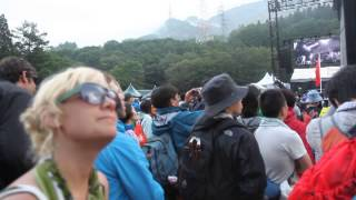Mumford & Sons マムフォード&サンズ- The Cave ザ・ケイブ - Beautiful Performance in the Mountains at FUJI ROCK 2013