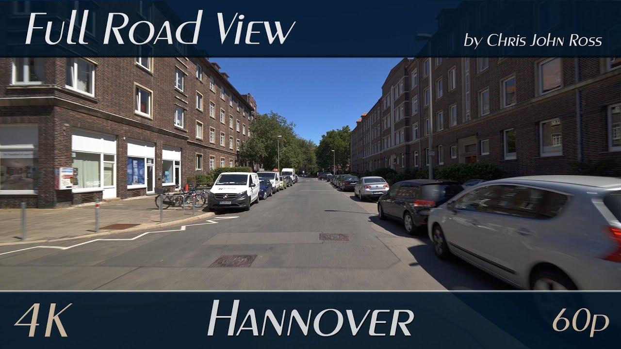 Einkaufen Auf Abstand feinste Auswahl Hannover: Südstadt-Bult - Heinrich-Heine-Straße, Nachtigalstraße,  Bertha-von-Suttner-Platz - 4K UHD