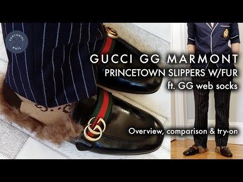 gucci princetown gg