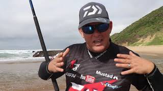 ASFN Fishing Vlog 0188 - Scratching for edibles  Cape Vidal Zulu Land