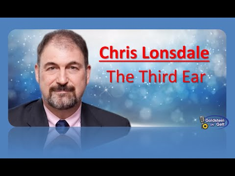 Chris Lonsdale  - The Third Ear - interview - Goldstein on Gelt - Aug. 2014