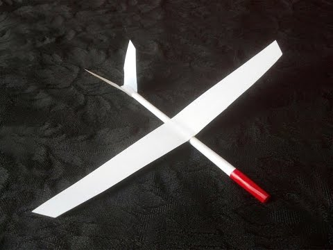 Paper Airplane Glider that flies, How to make and fly!