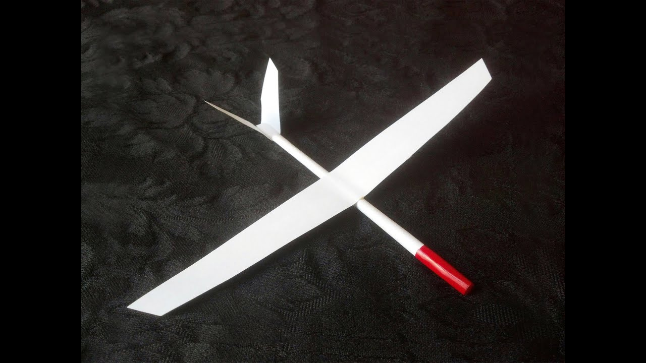 & Paper Airplane Glider that flies How to make and fly! - YouTube