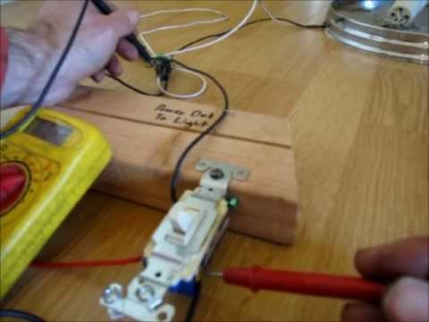 Three Way Switch Demonstration Troubleshooting YouTube