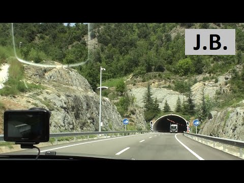 From Lloret de Mar to ANDORRA on rental car by free roads
