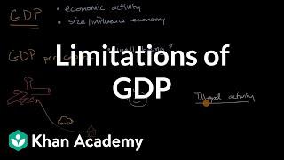 Limitations of GDP | Economic indicators and the business cycle | AP Macroeconomics | Khan Academy