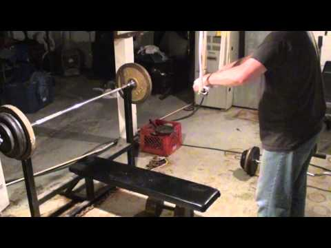 Homemade Weightlifting Equipment – Cheap Home Gym Fitness Training