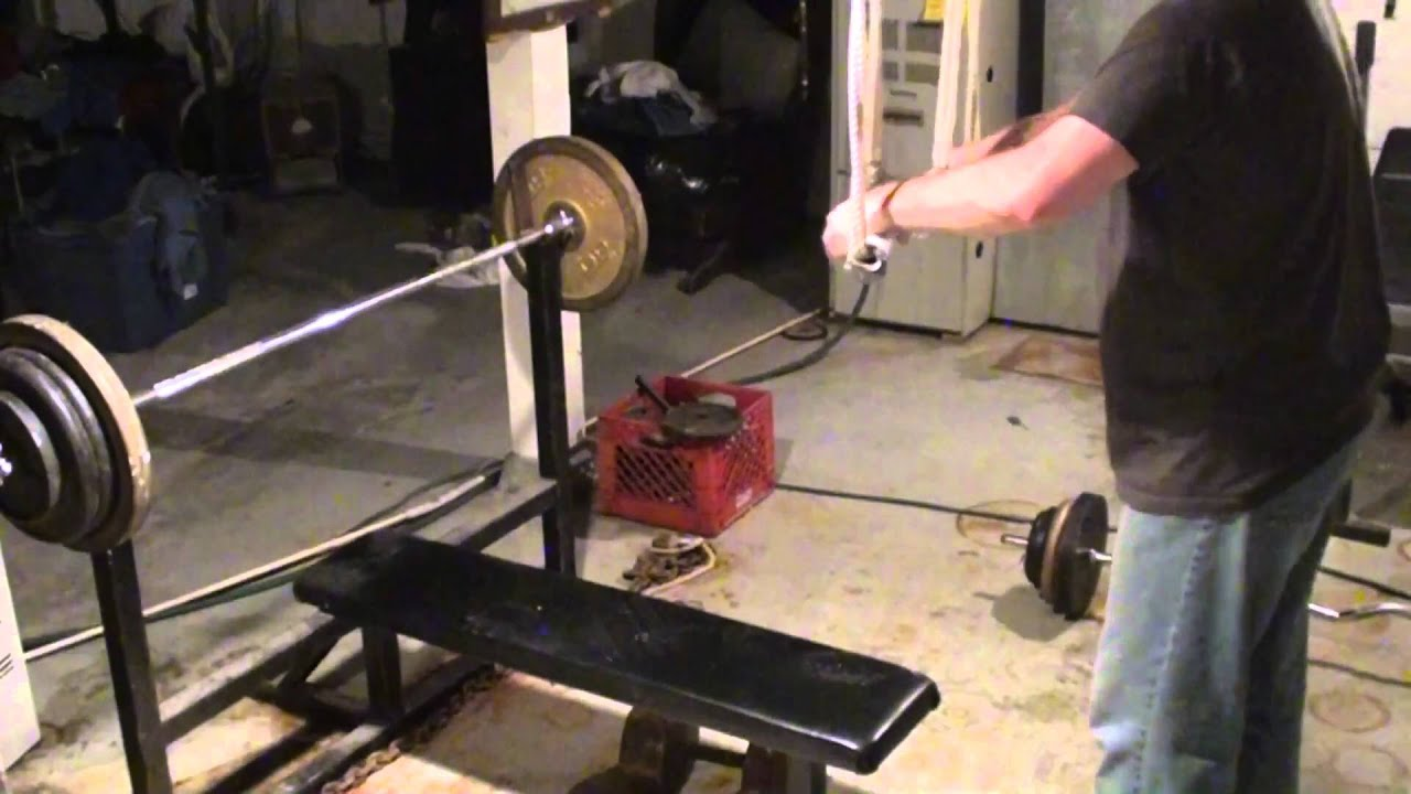 homemade weightlifting equipment cheap home gym fitness training