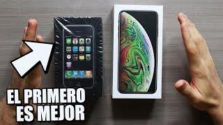 iPhone XS Max VS iPhone 2G Unboxing | ¿Ahora Tienen Menos Calidad?